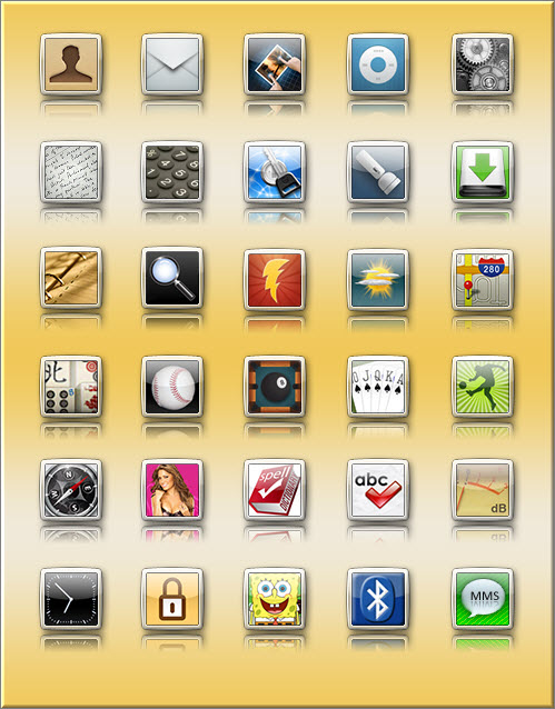 iElegance – иконки для Iphone
