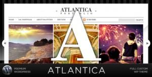 Atlantica wordpress шаблон