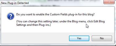 WLW теперь можно подружить с custom fields